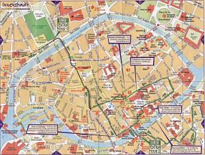 Straßburg-Karte