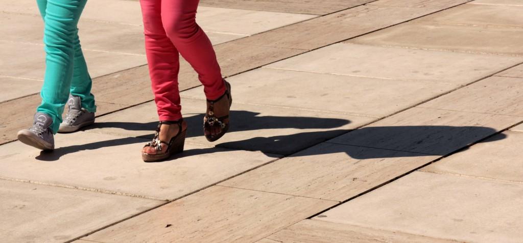 Gangarten Füße 16