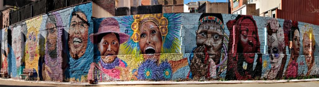 Graffiti Barcelona Gesichter 18