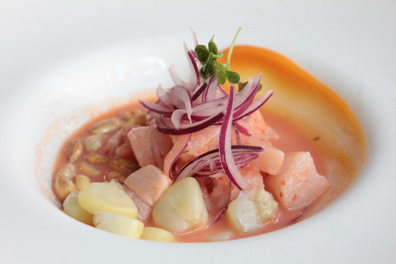 Peruanisches Mittagessen