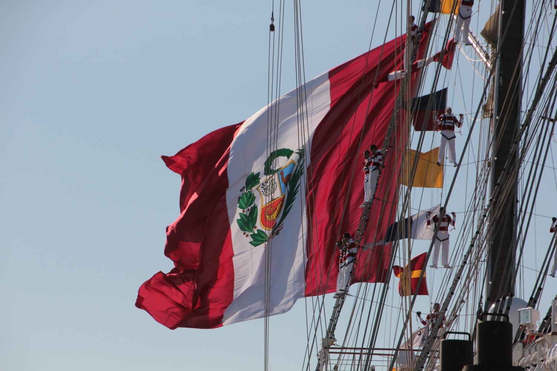 B.A.P. Unión: das peruanische Segelschulschiff zu Besuch in Hamburg