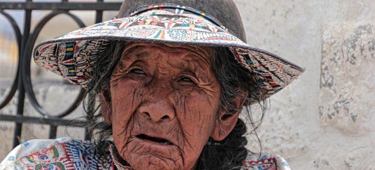 Gesichter der Anden