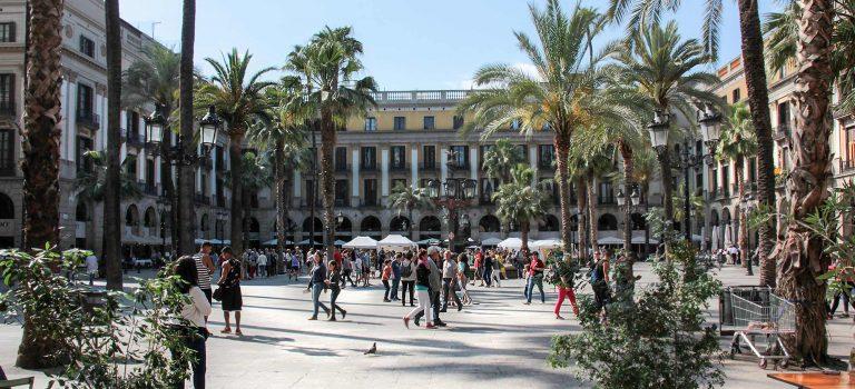 Reisen nach Barcelona