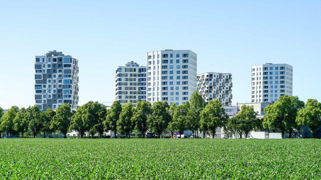 Hochhäuser in Obersendlingen München