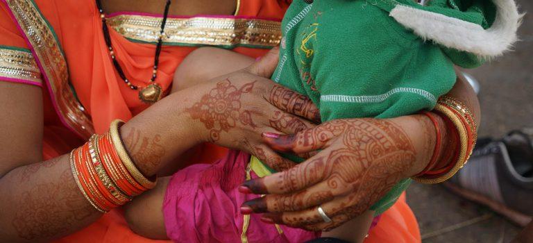Hände, Indien