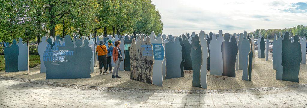 Denkmal in München für die Opfer des Wiesn-Attentats